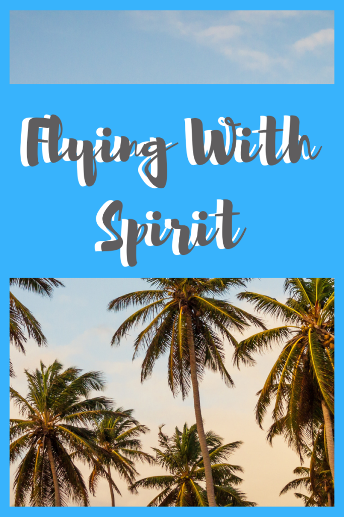 flying with Spirit airline