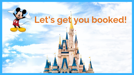 Disney- Let's get booked